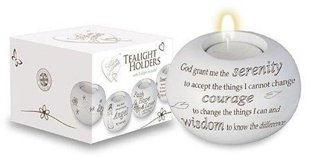 Serenity Vers ~ Teelichthalter Inspirierende Geschenk