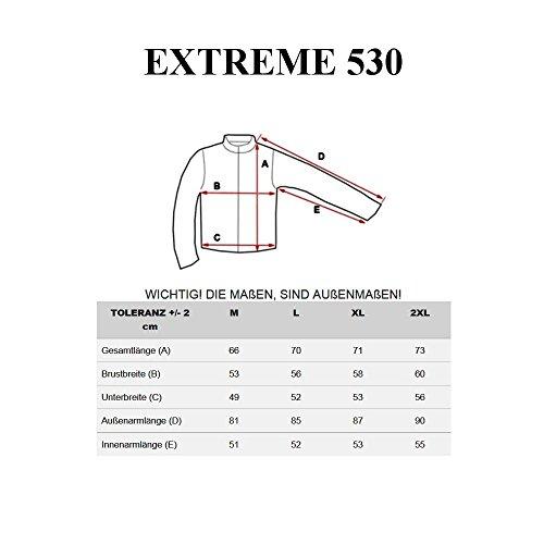 BOLF Herren Sweatjacke Jacke Übergangsjacke Jacke Herren Herrenjacke EXTREME 530 Schwarz