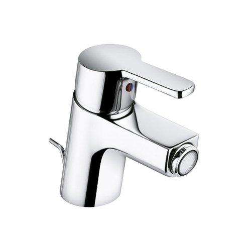 Kludi Sitzwaschbecken-Einhebelmischer Logo Neo mit Abl Garnitur, geschlossenem Hebel, verchromt, 375330575