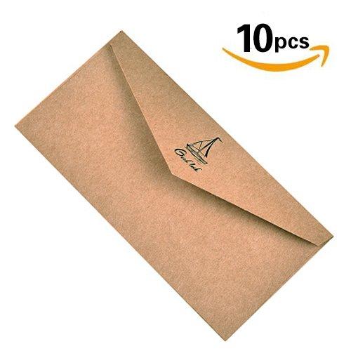 e Color Geschenk Karte Umschlag–100Personalisieren Grußkarte Einladung Umschläge für Hochzeitstag Weihnachten Ostern einjährig Diwali Geburtstag Party Treffen hellbraun (Einfache Halloween-aktivitäten Schreiben)