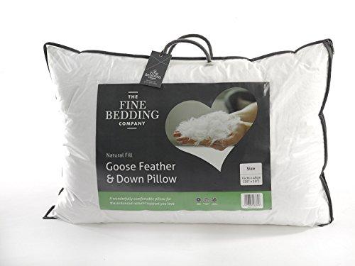 The Fine Bedding Company Almohada Plumas plumón Ganso