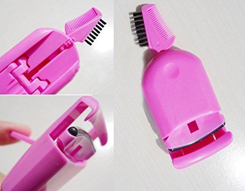 takestop Wimpernzange faltbar mit Kamm Kamm Pinsel Biese Curler Wimpern Make-up Makeup...