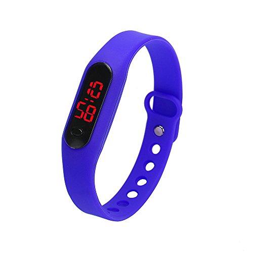 Skang Digitale Armbanduhr, Outdoor Laufen wasserdichte Uhren, LED-Licht Sportuhr Für Frauen und Männer Teenager Jungen Mädchen(one Size,C)