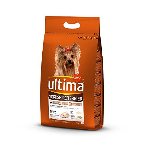 Ultima Cibo per Cani Yorkshire Terrier con Pollo, 3 kg