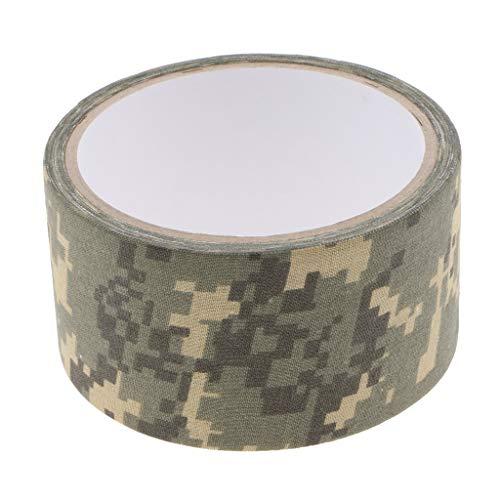 P Prettyia Tarnband Gewebeband Klebeband Camo Camouflage Tape für Kamera Objektiv - Digital Camouflage