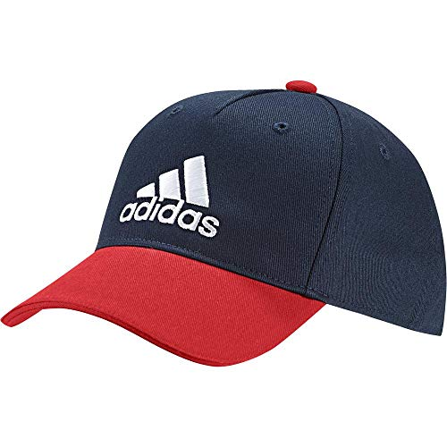 adidas Kinder Graphic Baseball-Cap, Collegiate Navy/Active Red/White, FR Unique (Taille Fabricant : OSFC)
