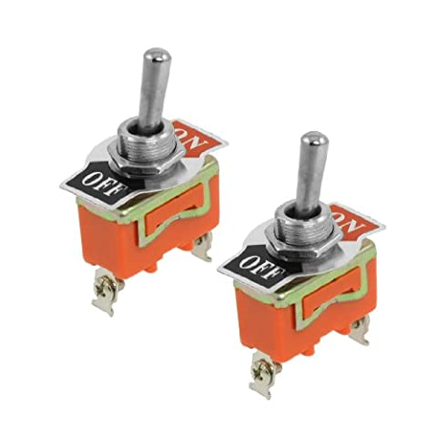 sourcingmap® AC 250V 15A SPST 2 Position On/OFF Toggle Switch