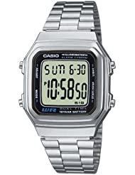 Casio Collection Herren-Armbanduhr Digital Quarz A178WEA-1AES
