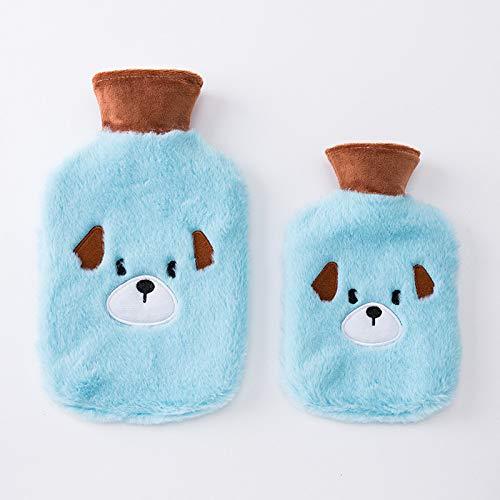 SPFAZJ Heiß-Flasche 2018 Neue Kaninchen Wolle heiß, Bag kreative koreanische Version Cartoon bellen Rubber warme Hand Schatz Baby -
