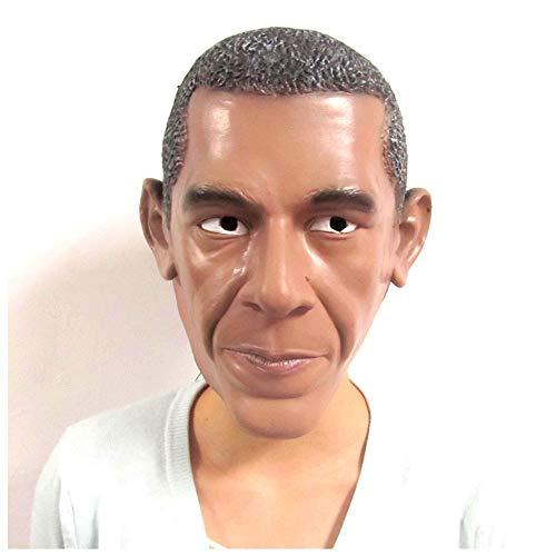 dent Obama Maske Latex Kopfschmuck Maskerade Lustige Requisiten ()