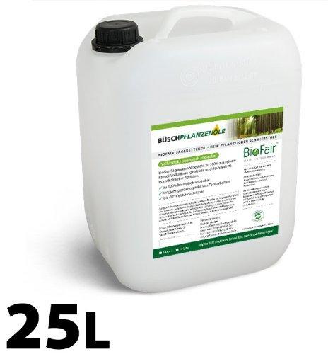 BioFair sägekettenöl 25L 100% Pur aceite de colza de llena raffinat-Patines