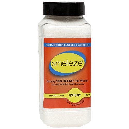 SMELLEZE Stoma- Beutel Geruch entfernen Deodorizer : 2 lb. Granulat Stopp Colostomy Stench -