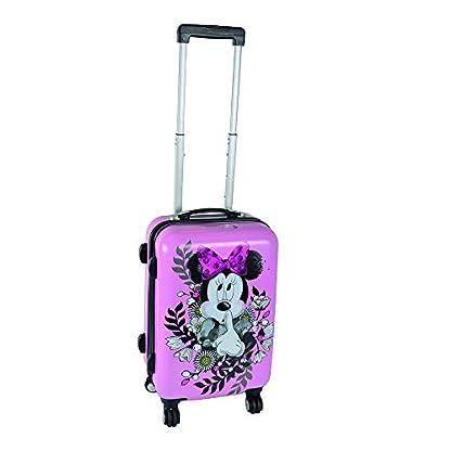Kinderkoffer-Minnie-Mouse-Rosa-mit-Blumen