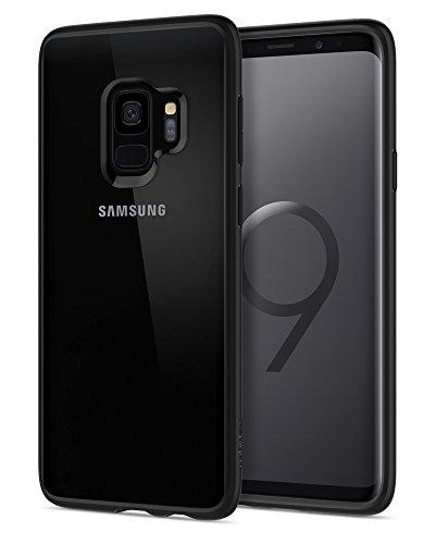 Coque Samsung Galaxy S9, Spigen [Ultra Hybrid] [Noir Matte] Resistante, Protection Coins,...
