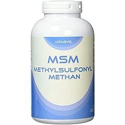 MSM Kapseln - 300 Kapseln - Methylsulfonylmethan - 5 Monatsvorrat - 1400mg pro Tagesdosis - Made in Germany - ohne Magnesiumstearat / ohne Füllstoffe