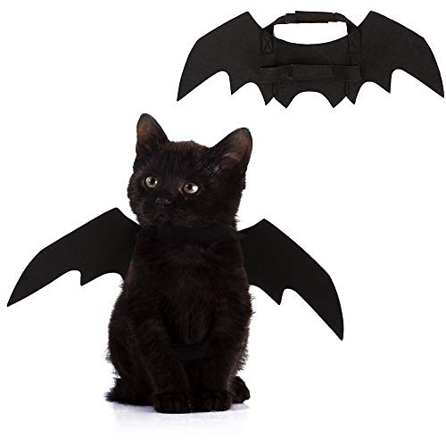 Linie Kostüm Tier Liebe - Halloween Funny Pet Dress, Hundekostüm Cute Bat Wings Kostüm, Cute Dog Kostüm für Party Dekoration,S