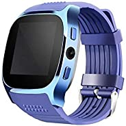 JOKIN T8 Smart Watch Smartwatch Bluetooth Touchscreen Sweat Proof Phone Watch with Camera TF/SIM Card Slot for