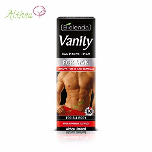 VANITY MEN Crema depilatoria para hombres