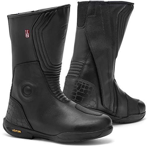 FBR040 - 0010-37 - Rev It Quest OutDry Ladies Motorcycle Boots 37 Black (UK 4)