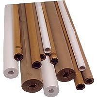 Unipapel 5113 - Rollo de papel kraft, 1 x 5 m, color marfil