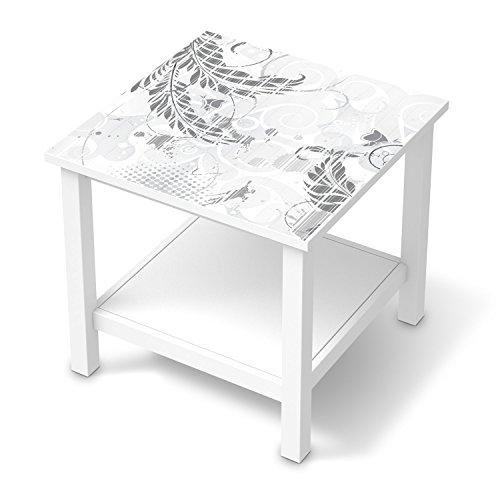 creatisto Folie für IKEA Hemnes Beistelltisch 55x55 cm I Design Möbel-Sticker Folie Möbelfolie selbstklebend I Einrichtung stylen Wohndeko I Muster Ornament Florals Plain 2