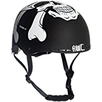 AWE® MEET YOUR MAKER™ BMX Casco nero 55-58cm SOSTITUZIONE DI CRASH GRATIS 5 ANNI *