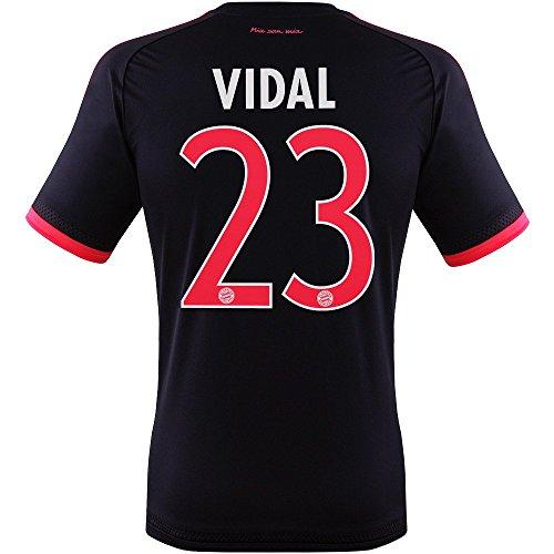 Trikot Adidas FC Bayern 2015-2016 Champions League - Vidal [Jugend 164]