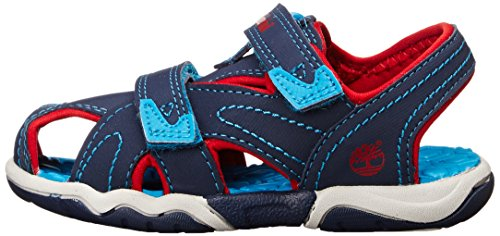 Timberland Adventure Seeker Ct  Boys  Sandals  Blue  Navy With Red And Blue   1 5 UK