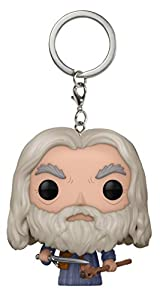 Lord of the Rings- Pocket Pop Keychain Gandalf LOTR/Hobbit Llavero de Vinilo (Funko 14038)