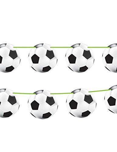 16-teiliges Einladungs-Set * FUSSBALL-STADION * für Party und Geburtstag // Kindergeburtstag Kinder Party Fete Set Fussball Einladungskarten Invitations