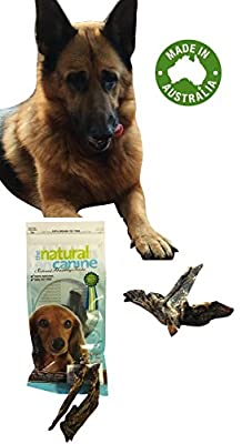 Dog Treats All-natural Dog Treats Kangaroo Jerky for Dogs - Pet Treats for Dogs Healthy Treats - Canine Best Buddy Packet 100g - Meat Products 100% Australian Made Kangaroo Jerky - Puppy Treats for Training