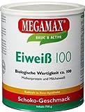 Megamax Eiweiss Schoko. Molkenprotein + Milcheiweiß Eiweiß Protein mit Biologischer Wertigkeit ca. 100. Für Muskelaufbau und Diaet. Inhalt: 750 g