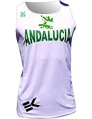EKEKO CAMISETA ANDALUCIA , running, atletismo y deportes de playa. (L)