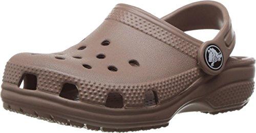 crocs Unisex-Kinder Roomy fit Classic Clog, Braun (Khaki 260), 23/24 EU Unisex Khaki