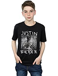 Justin Bieber Boys Purpose Album Cover T-Shirt