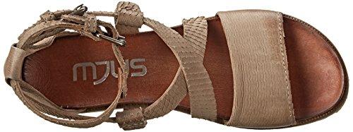 Mjus Taurus Cuir Sandales Gladiateur Ice