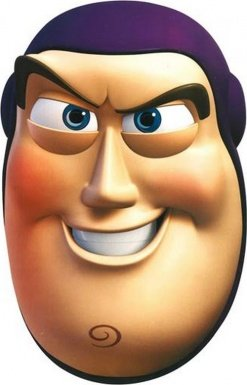 StarCutouts - Juguete Buzz lightyear Toy Story unisex a partir de 3 años (SM56)