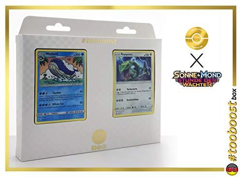 ESAM Box #tooboost WAILORD und Rayquaza - SM02 - 10 Deutsch Karten Pokemon