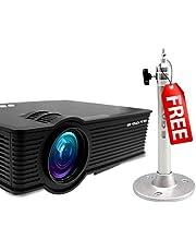 EGATE i9 LED Projector + 1 Feet Ceiling Mount