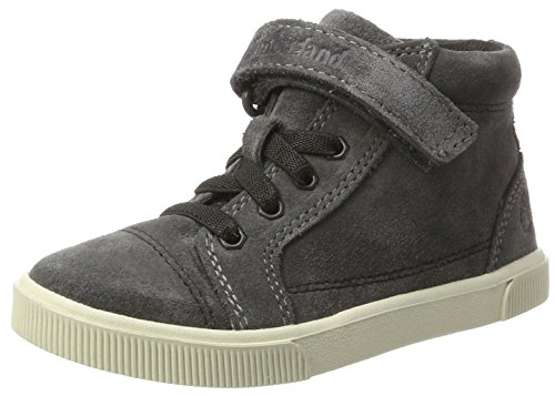 Jungen Schuhe Timberland Boot (Timberland Unisex-Kinder Abercorn Chukka Boots, Grau (Forged Iron), 30 EU)