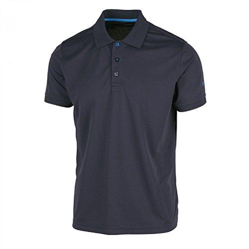 CMP Herren Polo T-Shirt, Antracite-Zaffiro, 50