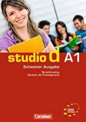 studio d - Schweiz Gesamtband A1. Sprachtraining mit eingelegten Lösungen