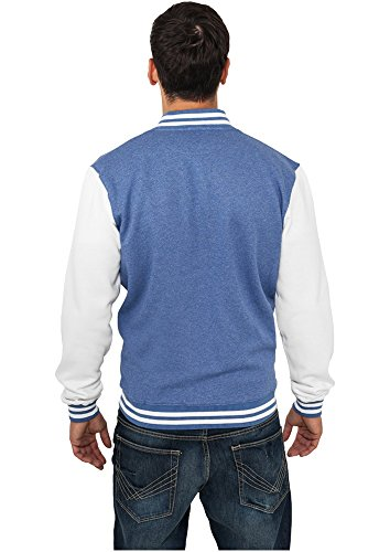 TB423 Melange College Sweatjacket Herren Fleece Jacke - 4