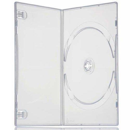 Four Square Media-Custodie singole per DVD, Slimline, 7 mm, confezione da 1