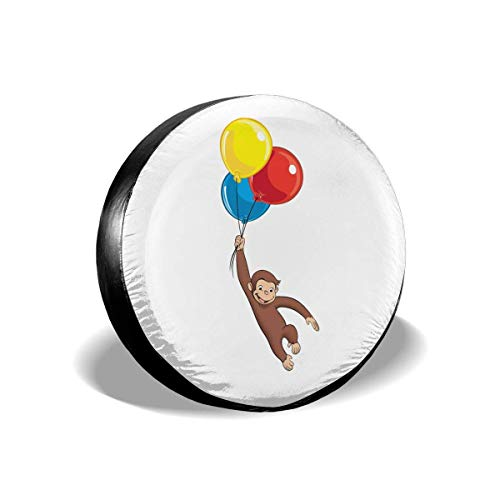 Tire Cover Curious George Wheel Covers Universal Tires Protectors ()