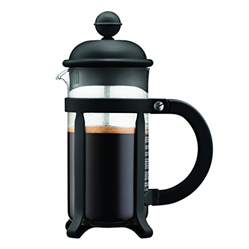 Bodum 1903-01 Java French Coffee Press 3 cup 0.35l 12oz Schwarz Blue Tall Cup
