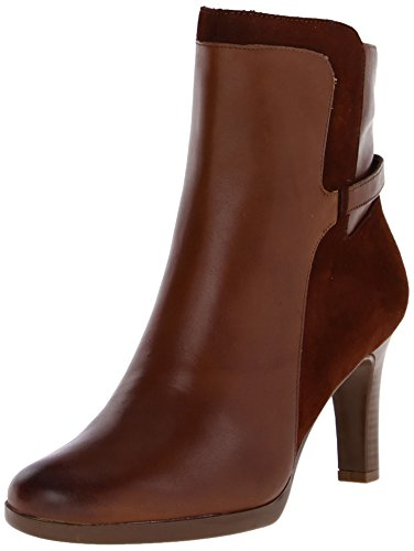 Naturalizer Allison Femmes Large Cuir Bottine brown