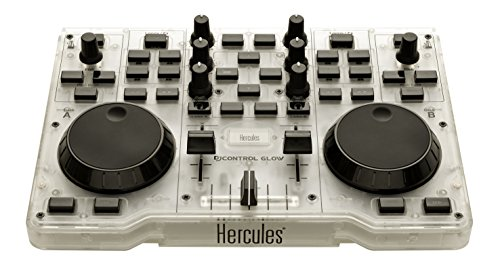 Hercules 4780839 USB-DJ-Kontroller Glow Mischpult Grün