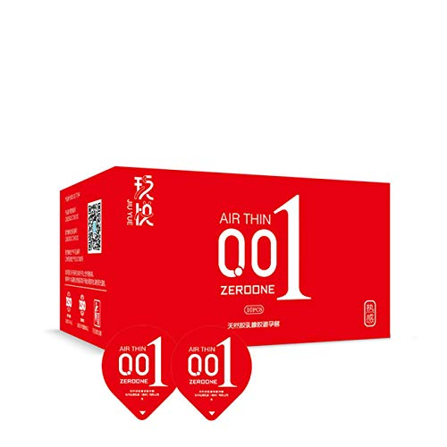 Eis Feuer Set - Yue Yue Hyaluronsäure Kondom 001 Kondom Eis Set Ice Sensing (20 Teile / 2 Kisten),red20(heat)