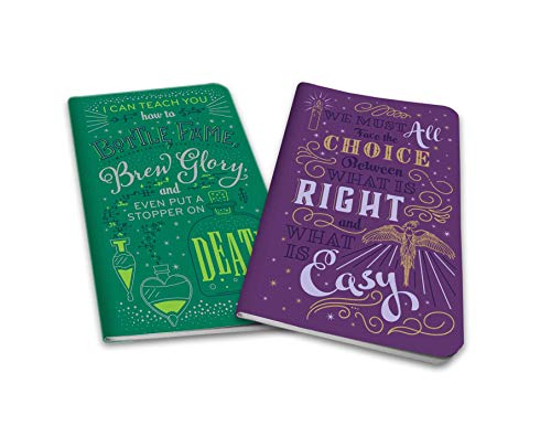 Harry Potter: Character Notebook Collection (Set of 2): Dumbledore and Snape (Harry Potter Character Journal)